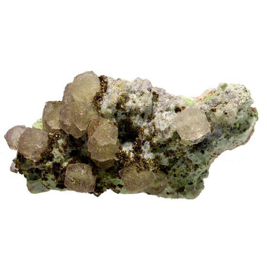 Fluorite Beudantite & Fornacite