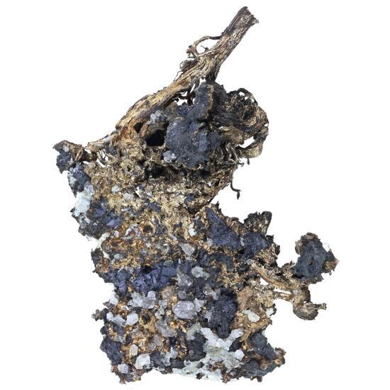 Native Silver & Chalcocite