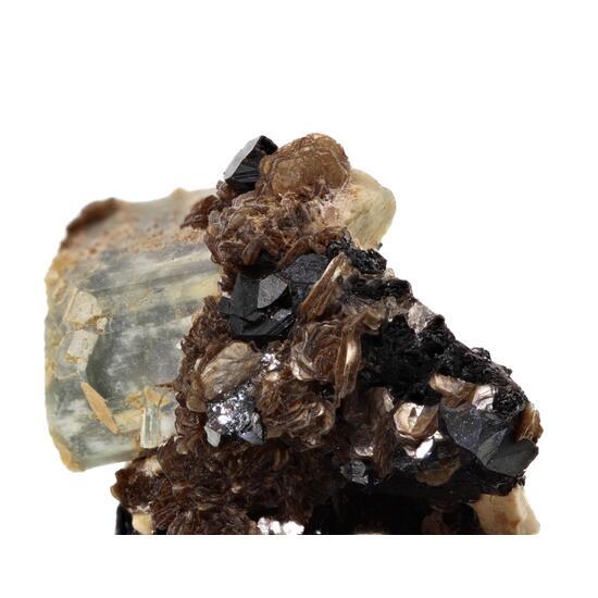 Cassiterite & Apatite