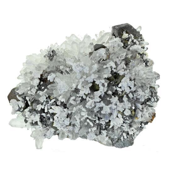 Sphalerite Calcite & Quartz