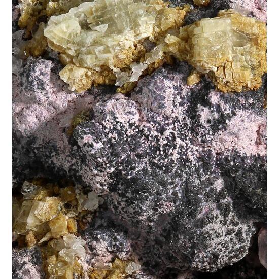 Erythrite With Safflorite & Native Bismuth