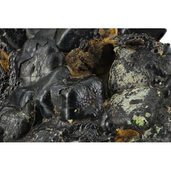 Goethite On Galena With Pyromorphite