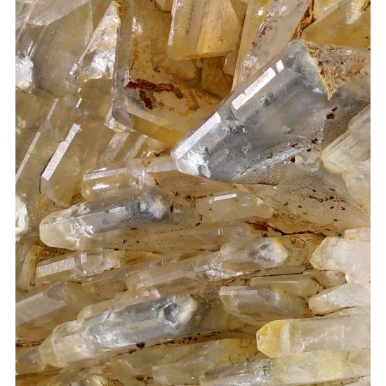 Baryte With Chalcopyrite Inclusions