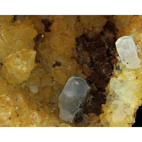 Native Copper Calcite & Quartz
