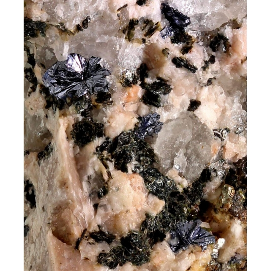 Molybdenite Epidote Pyrite & Clinochlore