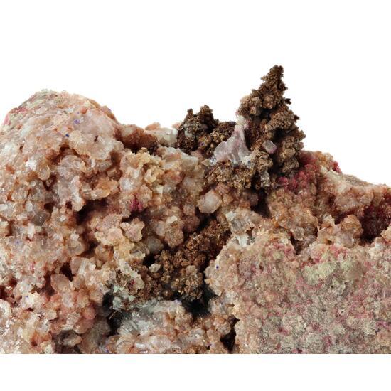 Native Copper & Cobaltoan Calcite