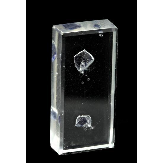 Fluorite & Quartz Facet