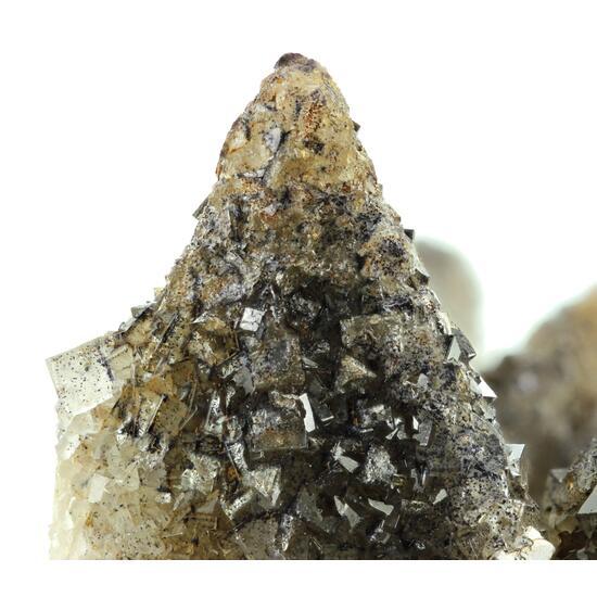 Fluorite On Calcite