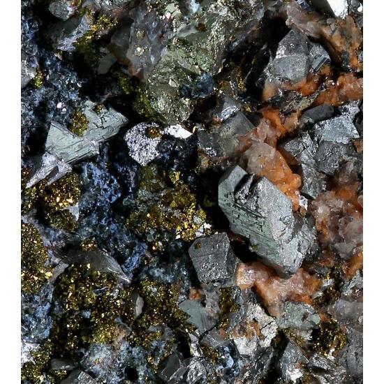 Arsenopyrite & Pyrite With Adularia & Chlorite