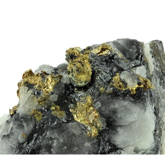 Native Gold & Stibnite