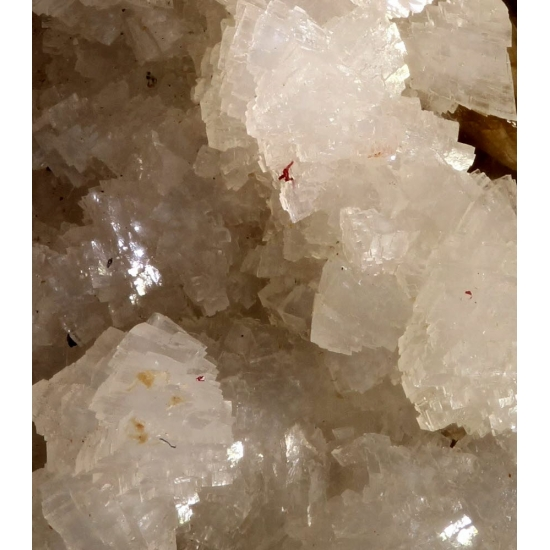 Cinnabar With Dolomite & Siderite