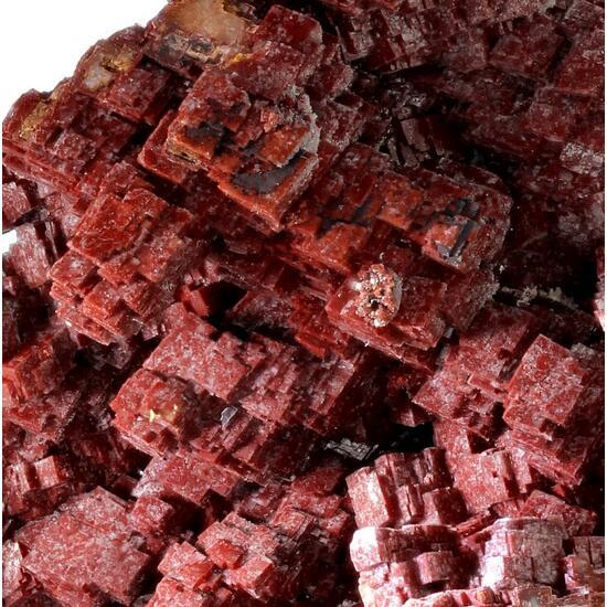 Calcite With Chalcotrichite Inclusions & Conichalcite