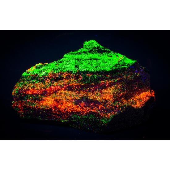 Willemite Calcite Fluorite Wollastonite & Rhodonite