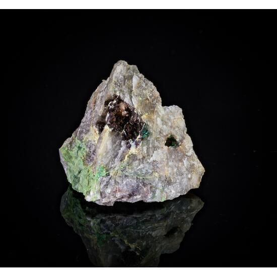 Khorixasite Brochantite & Wulfenite