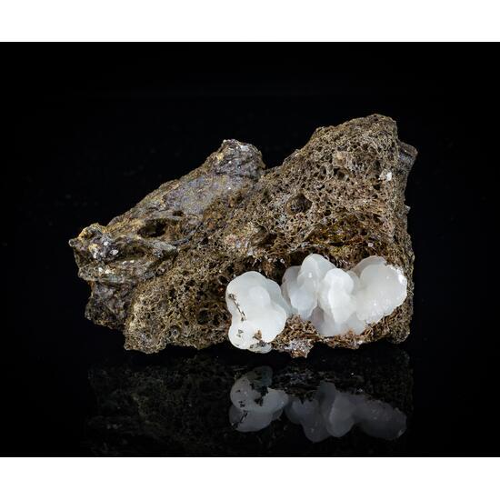 Calcite On Lava
