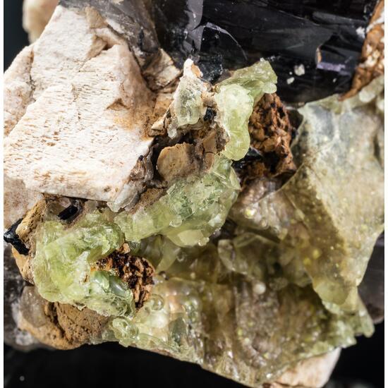 Smoky Quartz Opal-AN & Feldspar