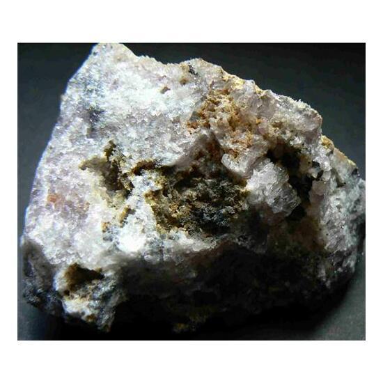 Native Silver Acanthite & Amethyst