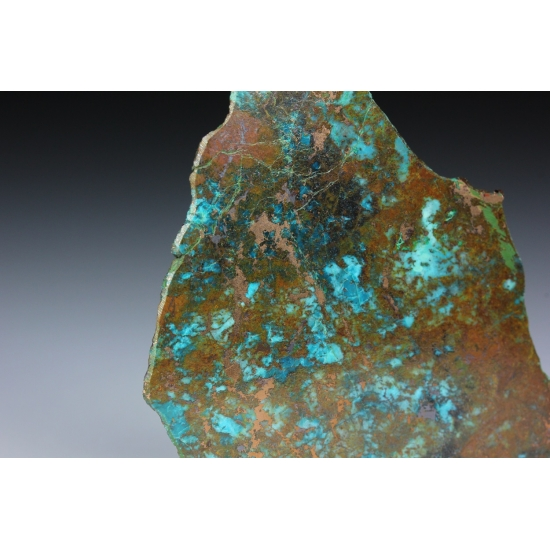 Copper With Chrysocolla