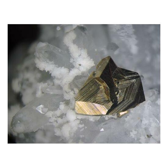 Chalcopyrite Calcite & Quartz