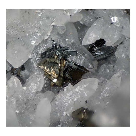 Chalcostibite & Tetrahedrite
