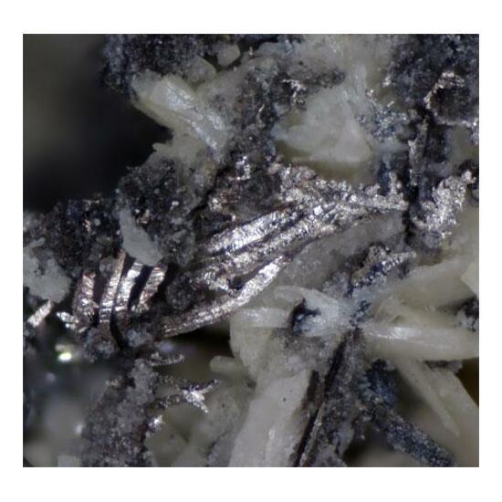 Jalpaite Acanthite & Native Silver