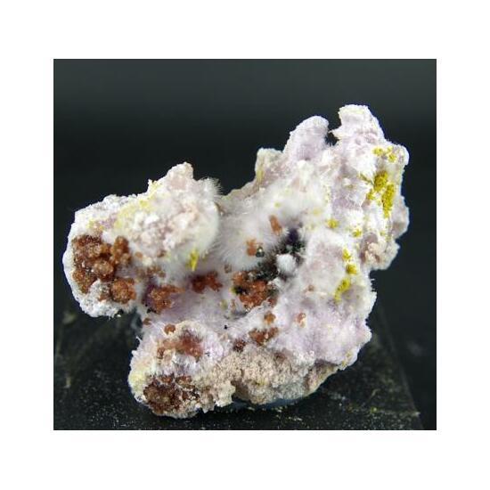 Kornelite Voltaite Coquimbite Römerite & Copiapite