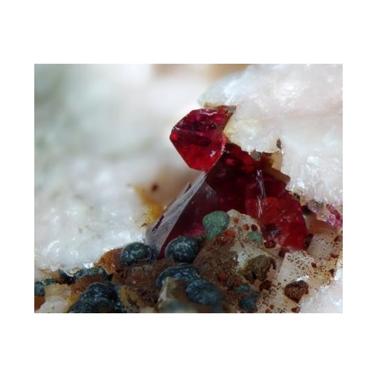 Roselite Cobaltoan Austinite & Cobaltlotharmeyerite