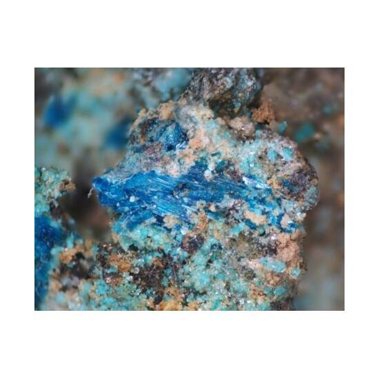 Orthoserpierite Schulenbergite & Gypsum