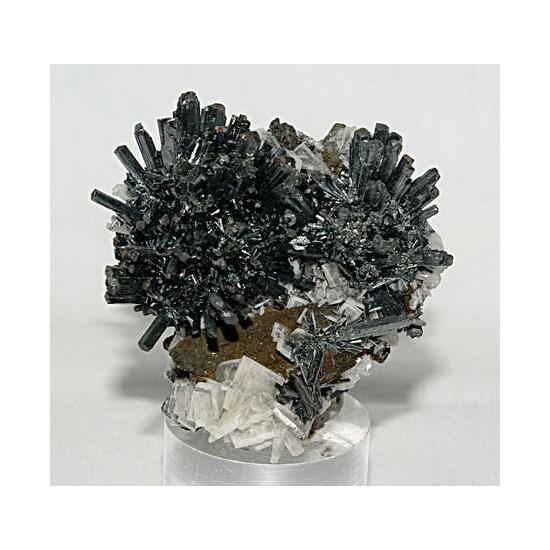 Stibnite Baryte & Chalcopyrite