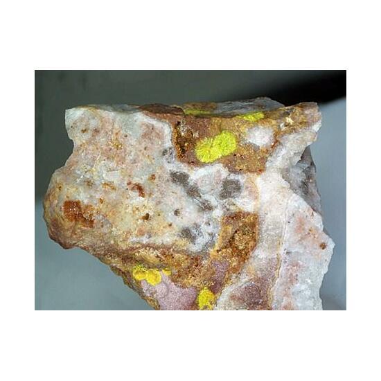 Rodalquilarite Gold & Jarosite