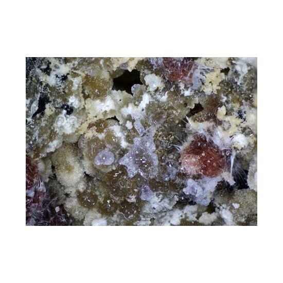 Szomolnokite Römerite Kornelite Halotrichite Coquimbite & Voltaite