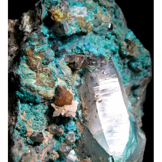 Turquoise With Quartz