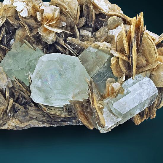 Fluorite & Aquamarine