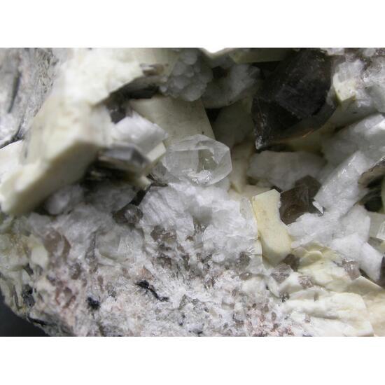 Topaz Smoky Quartz Muscovite Orthoclase & Albite