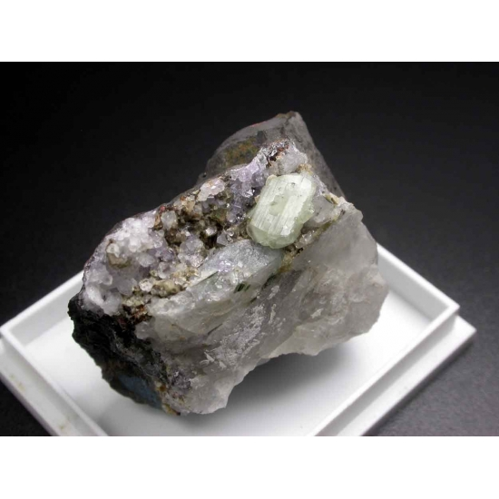 Brazilianite Apatite Siderite & Quartz