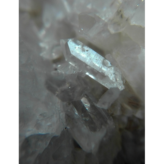 Rock Crystal Baryte & Calcite
