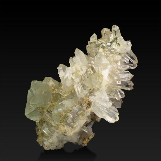 Fluorite & Rock Crystal
