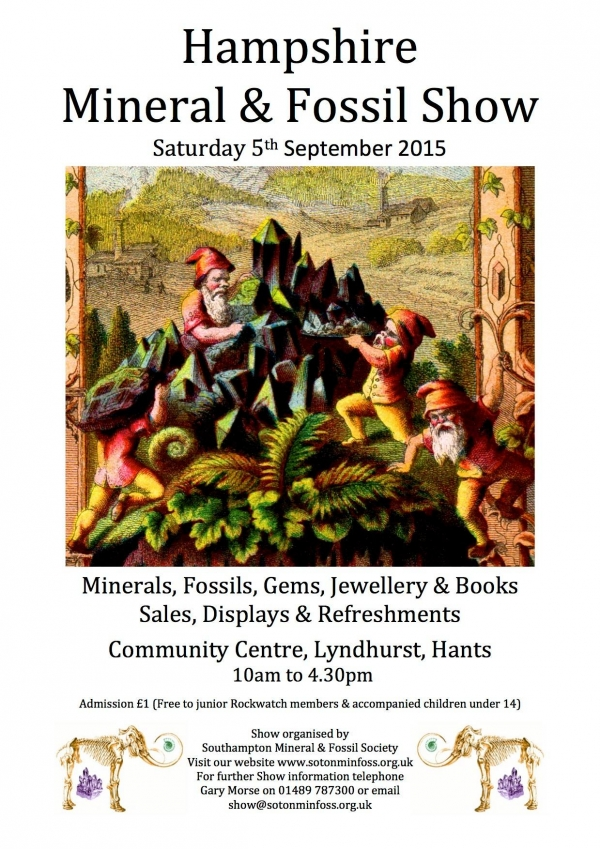 Content image: Hampshire Mineral & Fossil Show