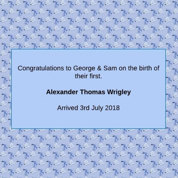 Content image: Congratulations to George!
