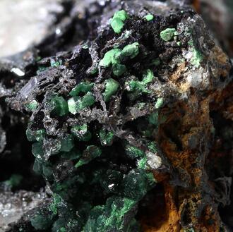 Photos: Chalcosiderite - Type Locality Specimen