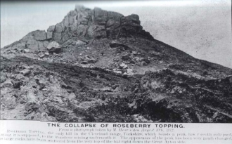 Photos: The Collapse of Roseberry Topping
