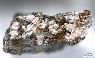 Photos: Two new minerals for the Uranus mine, Annaberg-Buchholz, Germany
